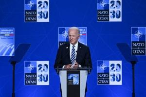 Biden says NATO leaders 'thanked me' for setting up meeting with Putin