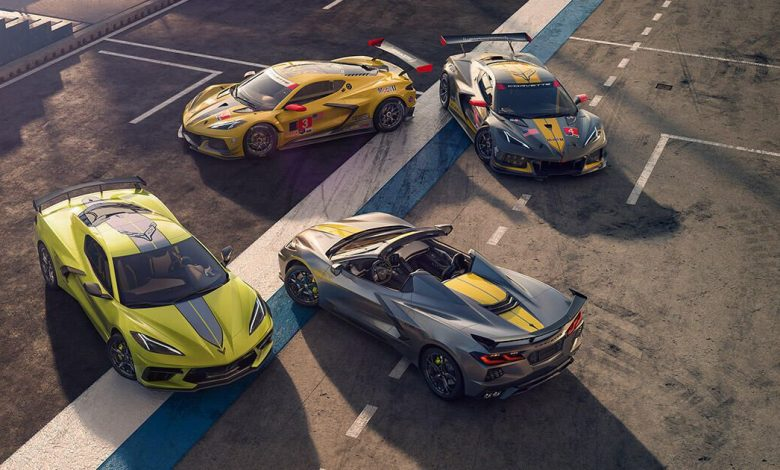 2022 Chevy Corvette revealed with IMSA GTLM Championship Edition