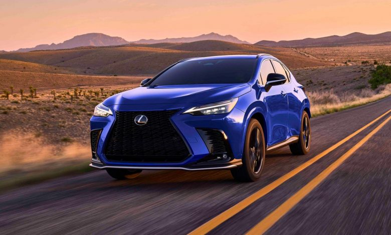 2022 Lexus NX crossover looks better inside and out     - Roadshow