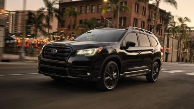 2022 Subaru Ascent lineup adds snazzy Onyx Edition