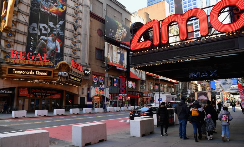 AMC stock extends rally, jumps 19% as theater chain sells new shares