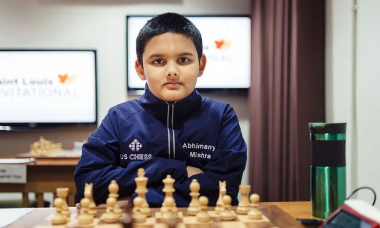 Abhimanyu Mishra, 12, becomes youngest grandmaster in chess history