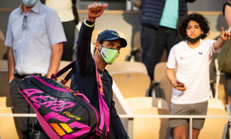 At the French Open, it 'seems like a normal life is starting over again'