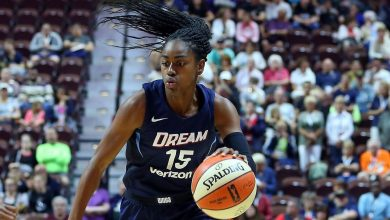 Atlanta Dream's Tiffany Hayes out at least a month with MCL tear
