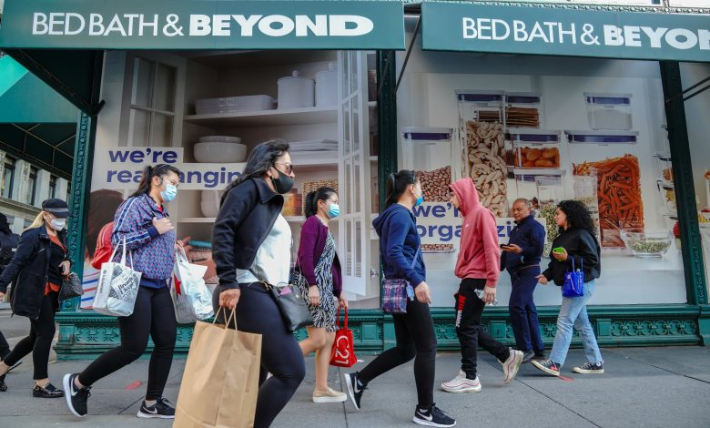 Bed Bath & Beyond stock surges 50% as turnaround plans speed ahead