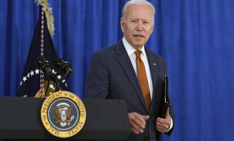 Biden tells graduates it's 'up to you' to shape the future