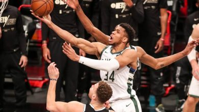 Giannis Antetokounmpo and the Bucks will play in the Eastern Conference finals for the second time in three years.
