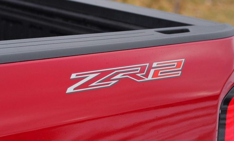 Chevrolet teases the Silverado ZR2 off-road truck in the mud