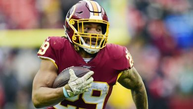 Domestic violence charges dropped against former Washington Football Team RB Derrius Guice