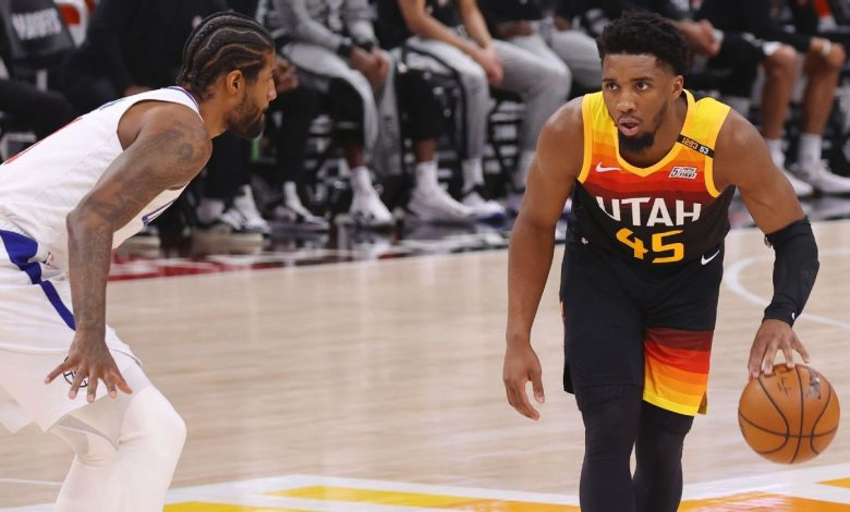 Donovan Mitchell scores 37 to lead Utah Jazz to Game 2 win, says he's 'fine' after late ankle injury
