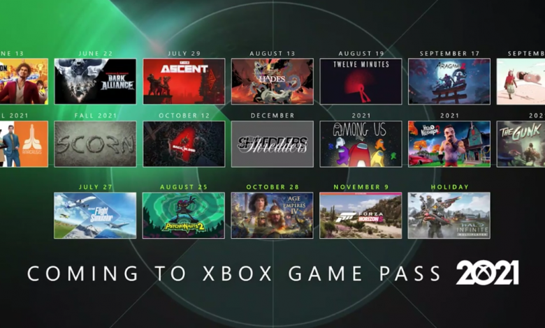 Every game Microsoft just said was coming to Xbox Game Pass