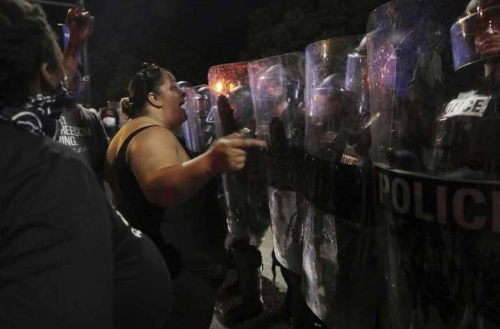 Most of the arrests were for disorderly conduct as