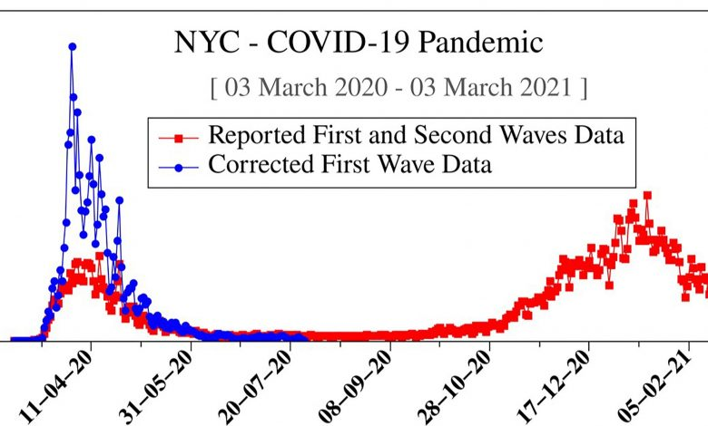 First Wave COVID-19 Data Underestimated Pandemic Infections