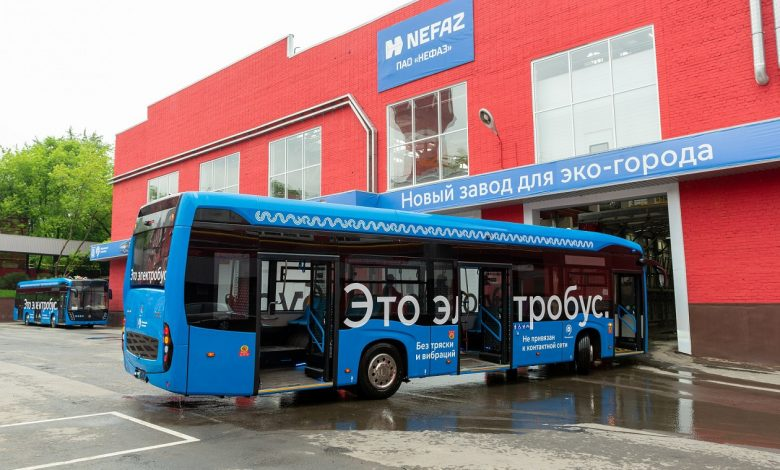 First electric buses produced in Moscow ready to hit the streets