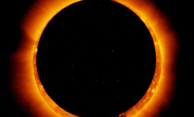 First solar eclipse of 2021 will show off a 'ring of fire' in the sky