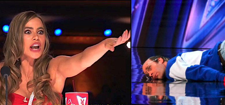 Freestyle dancer shocks 'AGT' judges with bizarre 'rhythmic spasms,' scary stage tumble