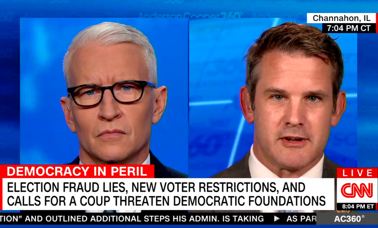 GOP congressman says it's time to stop 'fetishizing the idea of overthrowing the government'