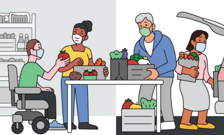 Google's new tool helps people find food support in their community. Here's how to use it