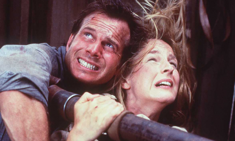 Helen Hunt says her idea for a 'Twister' sequel featuring 'all Black and brown storm chasers' was rejected