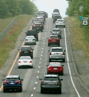 About 43.6 million Americans are expected to hit the road between July 1 and 5 for Independence Day, per AAA.