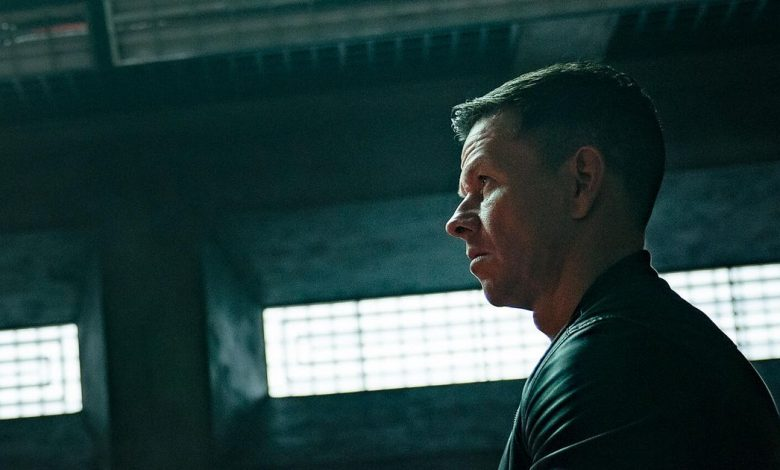 In Infinite, Mark Wahlberg looks confused as he relives past action movies