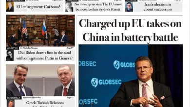 Issue 1391:Charged up EU takes on China in battery battle (Digital Edition)