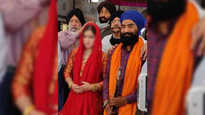 The abducted 18-year-old Sikh girl got married at a local