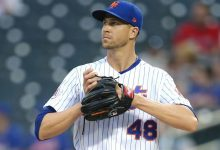 Jacob deGrom on track to make next scheduled start for New York Mets