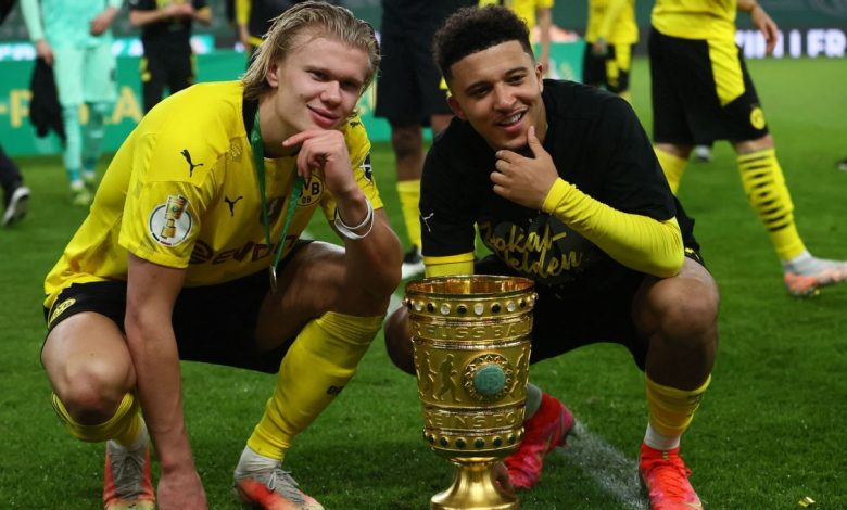 Jadon Sancho to Manchester United, but Erling Haaland looks set to stay