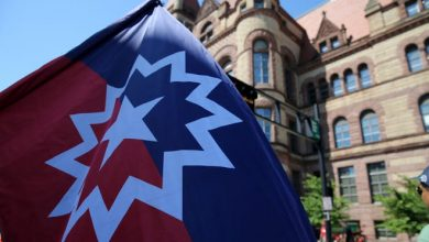 The city of Cincinnati, for the first time in its history, raised the Juneteenth Flag on June 19, 2020, at City Hall.