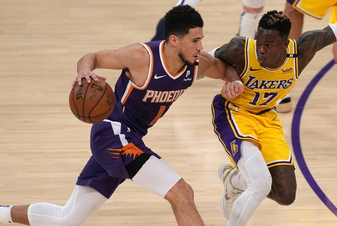 Devin Booker poured in 47 points for the Suns.