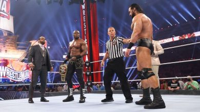 Live results and analysis including Bobby Lashley-Drew McIntyre, Bianca Belair-Bayley