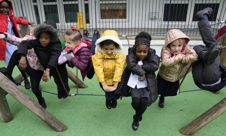 London school fights COVID fallout with laptops, bean bags