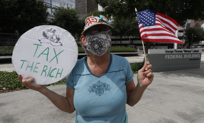 Many millionaires support higher taxes on rich and corporate America