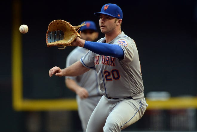 Pete Alonso was the NL Rookie of the Year in 2019.