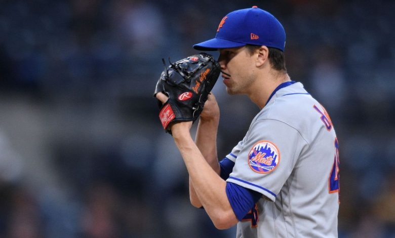 New York Mets' Jacob deGrom is in rare company after another scoreless start drops his ERA to 0.62