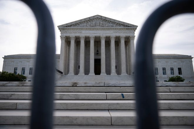 A general view of the Supreme Court on June 1, 2021, in Washington, D.C.