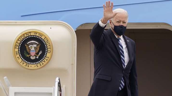 FILE - In this March 16, 2021, file photo, President Joe