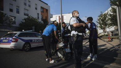 On patrol with police in Paris' tough suburbs