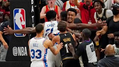 Philadelphia 76ers' Joel Embiid fined $35,000 for scuffle in Game 6