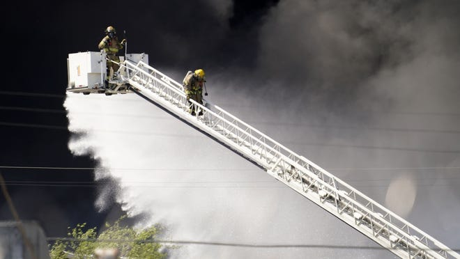 Phoenix fire prompts 'largest response' in fire department's history