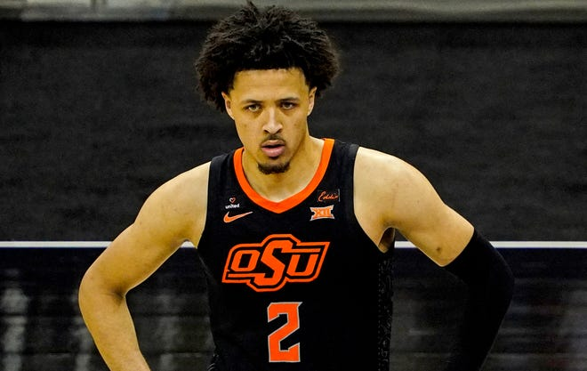 Cade Cunningham is the presumptive top pick in the upcoming NBA draft