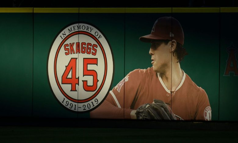 Pitcher Tyler Skaggs' family files suits against Los Angeles Angels, former employees
