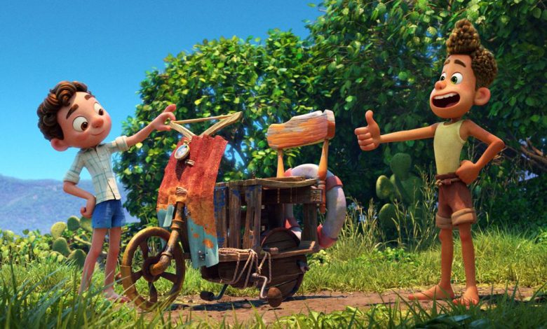Pixar's Luca featurette shows off endless summer in the Italian Riviera