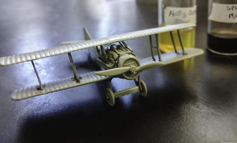 Model Airplane Assembled With Silk-Based Glue