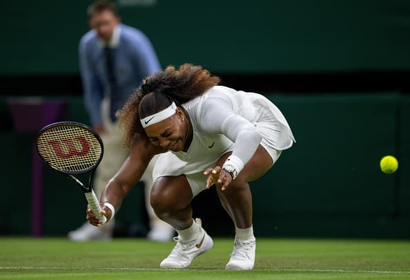 Serena Williams out after ankle injury in first-round match
