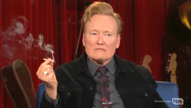 Seth Rogen got Conan O'Brien to smoke a joint on TV during his last week on TBS