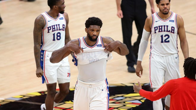 Sixers hold off Hawks to force Game 7 in NBA playoffs