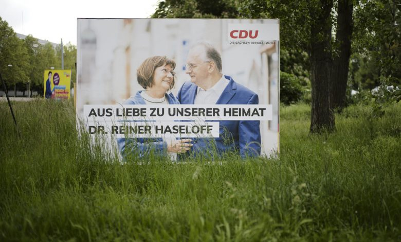 State vote seen as last test before German national election
