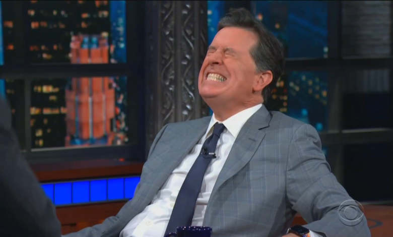 Stephen Colbert stumped by 'Lord of the Rings' trivia, but still receives precious gift from hobbits